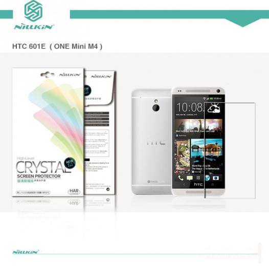 Защитная пленка Nillkin Crystal для HTC One mini / M4