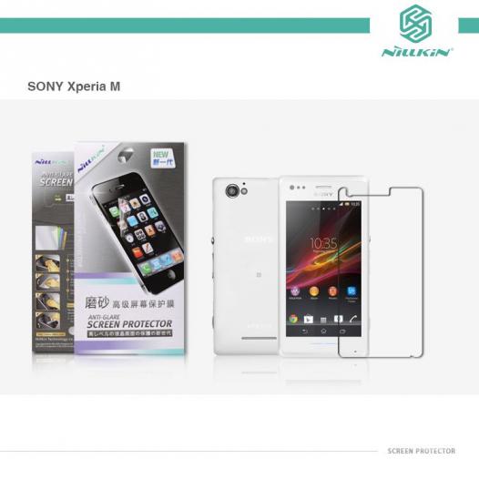 Защитная пленка Nillkin для Sony Xperia M/Xperia M Dual