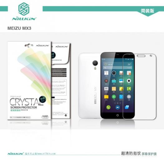 Защитная пленка Nillkin Crystal для Meizu MX3