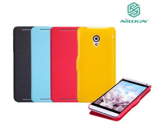 Кожаный чехол (книжка) Nillkin Fresh Series для HTC Desire 700