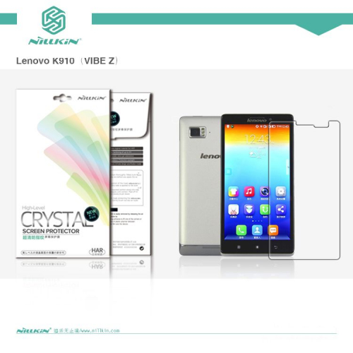 Защитная пленка Nillkin Crystal для Lenovo K910 (VIBE Z)