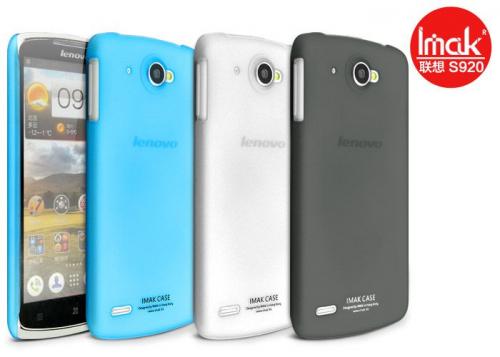 Пластиковая накладка IMAK Water Jade Series для Lenovo S920 (+ пленка)
