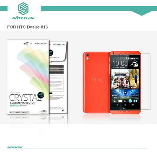 Защитная пленка Nillkin Crystal для HTC Desire 816