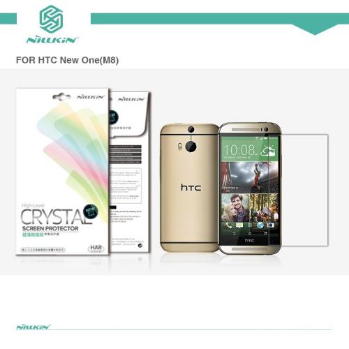 Защитная пленка Nillkin Crystal для HTC New One 2 / M8