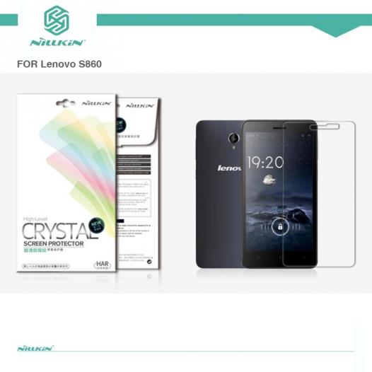 Защитная пленка Nillkin Crystal для Lenovo S860