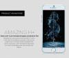"Защитное стекло Nillkin Anti-Explosion Glass (H+)(зак. края) для Apple iPhone 6/6s (4.7"")"