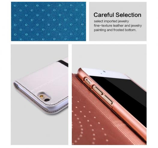 Кожаный чехол (книжка) Nillkin Ice Series для Apple iPhone 6/6s (4.7