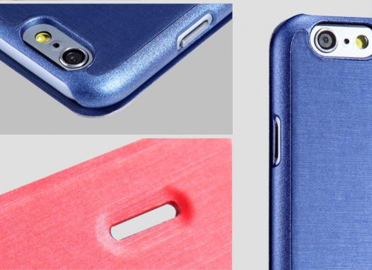 Кожаный чехол (книжка) Nillkin Rain Series для Apple iPhone 6/6s (4.7