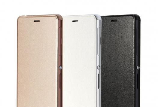 Кожаный чехол (книжка) Rock Delight Series для Sony Xperia Z3/Xperia Z3 Dual