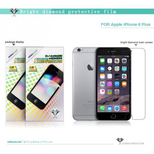 Защитная пленка Nillkin Bright Diamond Series для Apple iPhone 6/6s plus (5.5
