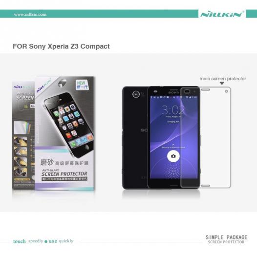 Защитная пленка Nillkin для Sony Xperia Z3 Compact