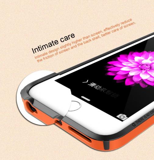 Бампер Nillkin Armor-Border Series для Apple iPhone 6/6s plus (5.5