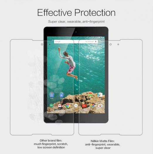 Защитная пленка Nillkin для HTC Google Nexus 9