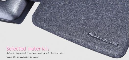 Кожаный чехол (книжка) Nillkin Sparkle Series для LG D295 L Fino Dual