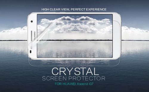 Защитная пленка Nillkin Crystal для Huawei G7
