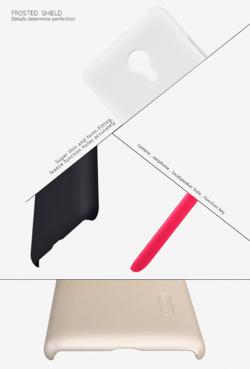 Чехол Nillkin Matte для Meizu MX4 Pro (+ пленка)