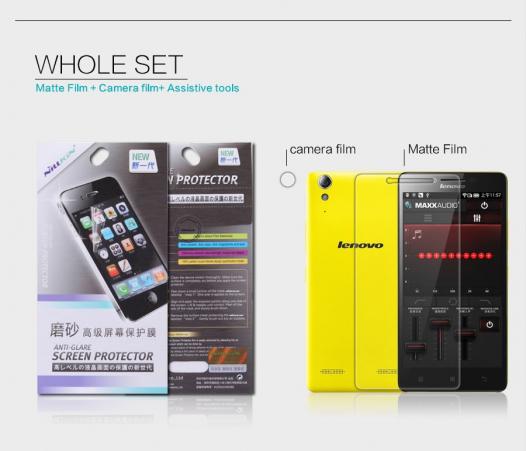 Защитная пленка Nillkin для Lenovo A6000/A6010/A6000+/A6010+/K3/A6010 Pro