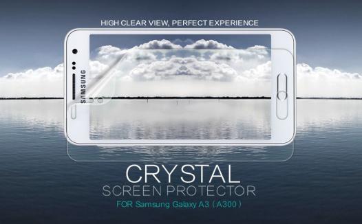 Защитная пленка Nillkin Crystal для Samsung A300H / A300F Galaxy A3