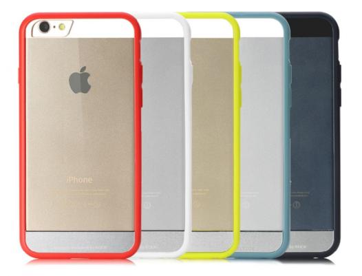 TPU+PC чехол Rock Enchanting Series для Apple iPhone 6/6s plus (5.5