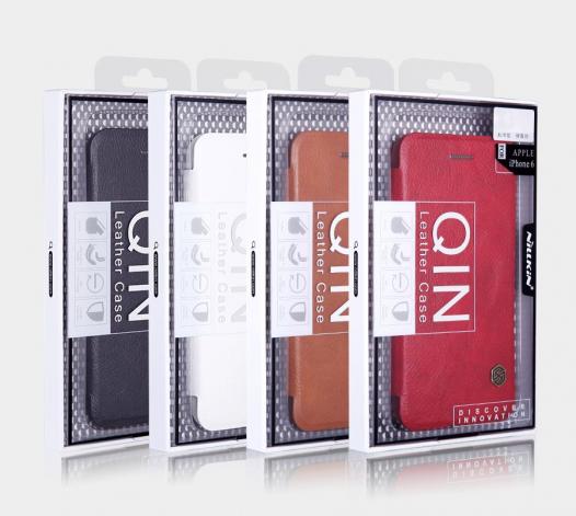 Кожаный чехол (книжка) Nillkin Qin Series для Samsung G930F Galaxy S7