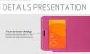 Кожаный чехол (книжка) Nillkin Sparkle Series для Xiaomi Redmi 2