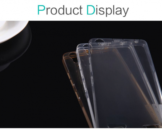 TPU чехол Nillkin Nature Series для Lenovo A6000/A6010/A6000+/A6010+/K3/A6010 Pro