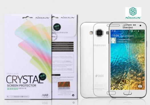 Защитная пленка Nillkin Crystal для Samsung E500H/DS Galaxy E5