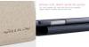 Кожаный чехол (книжка) Nillkin Sparkle Series для Samsung A700H / A700F Galaxy A7