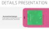 Кожаный чехол (книжка) Nillkin Sparkle Series для Meizu M1/M1 mini