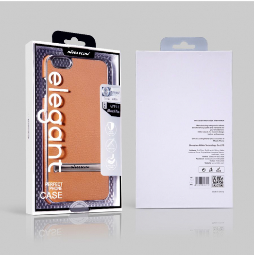 Кожаная накладка с подставкой Nillkin M-Jarl Series для Apple iPhone 6/6s plus (5.5