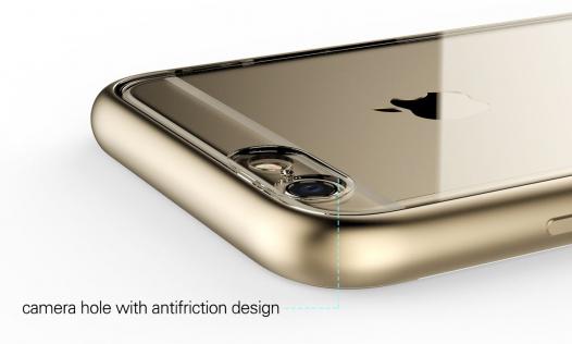 Металлический бампер + TPU Rock Kani Series для Apple iPhone 6/6s (4.7