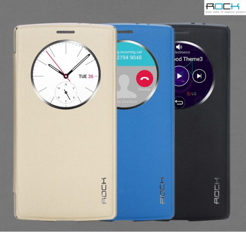 Чехол (книжка) Rock Touch series для LG H815 G4/H818P G4 Dual