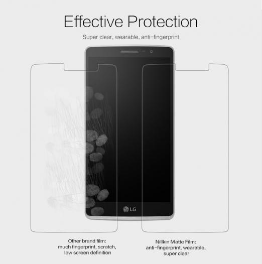 Защитная пленка Nillkin для LG H540F G4 Stylus Dual