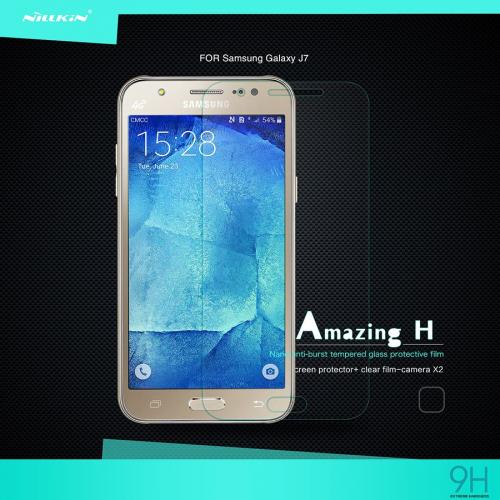Защитное стекло Nillkin Anti-Explosion Glass (H) для Samsung J700H Galaxy J7