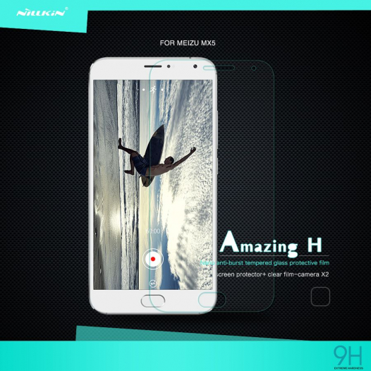 Защитное стекло Nillkin Anti-Explosion Glass Screen (H) для Meizu MX5