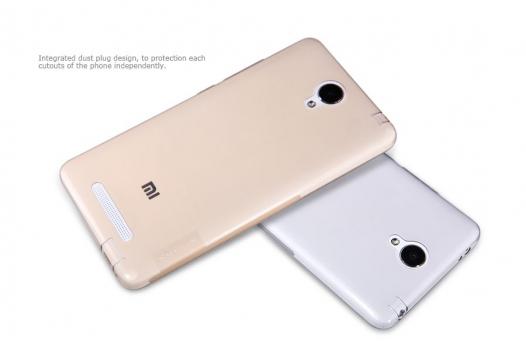 TPU чехол Nillkin Nature Series для Xiaomi Redmi Note 2 / Redmi Note 2 Prime