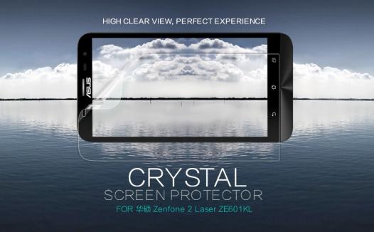 Защитная пленка Nillkin Crystal для Asus Zenfone 2 Laser (ZE601KL)