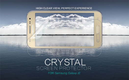 Защитная пленка Nillkin Crystal для Samsung J200H Galaxy J2 Duos