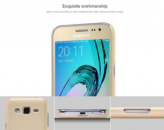 Чехол Nillkin Matte для Samsung J200H Galaxy J2 Duos (+ пленка)