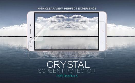 Защитная пленка Nillkin Crystal для OnePlus X