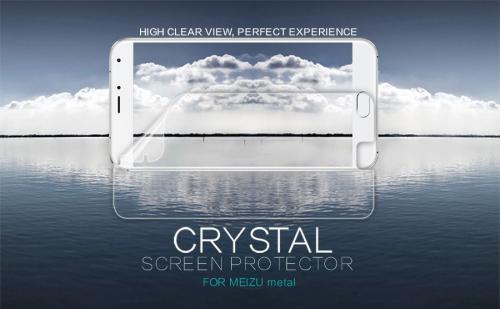 Защитная пленка Nillkin Crystal для Meizu Metal