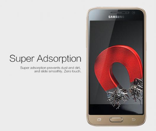 Защитная пленка Nillkin Crystal для Samsung J320F Galaxy J3 (2016)