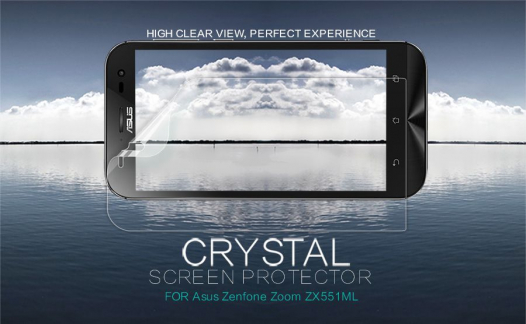 Защитная пленка Nillkin Crystal для Asus Zenfone Zoom (ZX551ML)