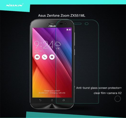Защитное стекло Nillkin Anti-Explosion Glass Screen (H) для Asus Zenfone Zoom (ZX551ML)