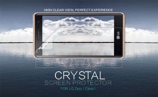 Защитная пленка Nillkin Crystal для LG H650E Zero / Class