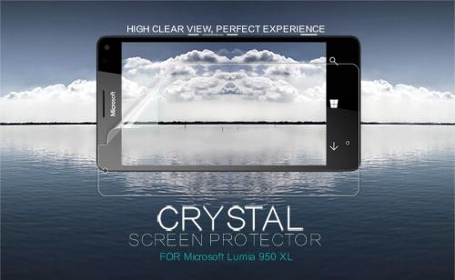 Защитная пленка Nillkin Crystal для Microsoft lumia 950 XL