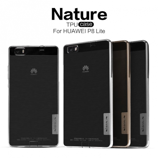 TPU чехол Nillkin Nature Series для Huawei P8 Lite