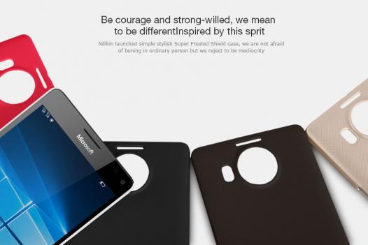 Чехол Nillkin Matte для Microsoft lumia 950 XL (+ пленка)