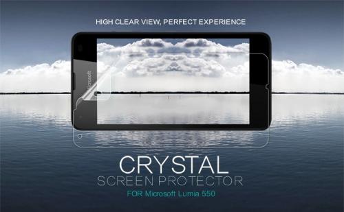 Защитная пленка Nillkin Crystal для Microsoft Lumia 550