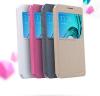 Кожаный чехол (книжка) Nillkin Sparkle Series для Samsung A310F Galaxy A3 (2016)